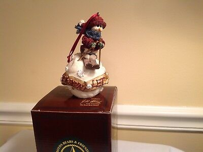 Boyds Bears Folkstone collection Olaf...Let it snow, Ornament