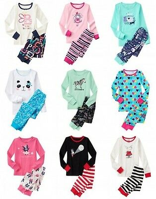 NWT Gymboree Girl Pajamas 2pc Set Top and Pants Many Sizes