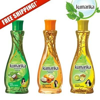 KUMARIKA 100% Natural Mix Ayurvedic Herbal Hair Oil Dandruff Hair Fall Split End