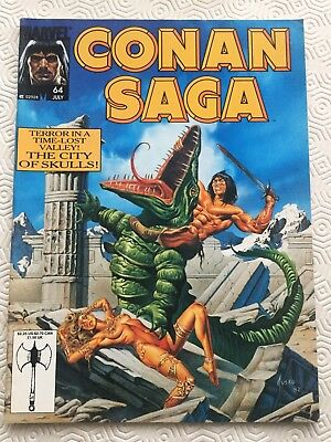 Conan Saga Issue 64 Conan the Barbarian Marvel