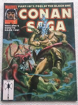 Conan Saga Issue 47 Conan The Barbarian Marvel