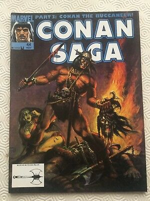 Conan Saga Issue 44 Conan The Barbarian Marvel