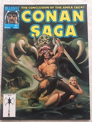 Conan Saga 41 Conan The Barbarian Marvel