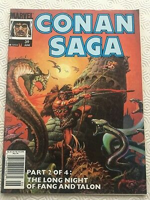 Conan Saga Issue 39 Conan The Barbarian