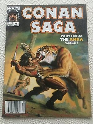 Conan Saga 38 Conan The Barbarian