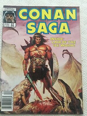 Conan Saga Issue 37 Conan The Barbarian