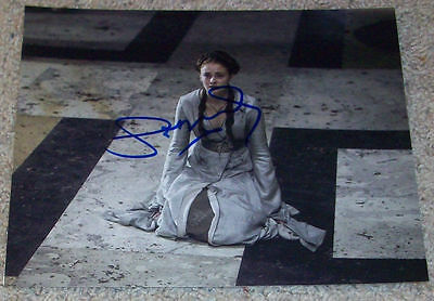 SOPHIE TURNER SIGNED AUTOGRAPH GAME OF THRONES SANSA STARK 8x10 PHOTO C w/PROOF