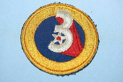 Lot of 4 Original WWII US Army Patches No  Glow 12 of 14