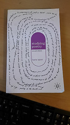 Studying Poetry by Barry Spurr (Paperback, 2006)