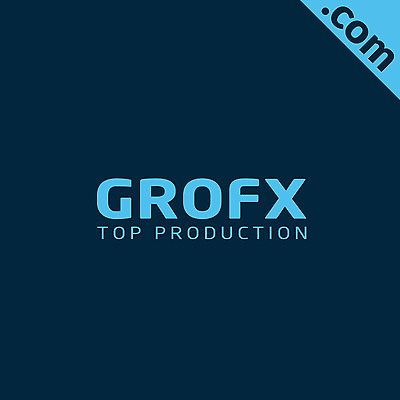 NO RESERVE: Grofx.com 5 Letter Brandable Catchy Domain Name for Sale