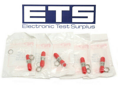 Lot Of 5 Fiber Instrument FI-8200A FIS Fiber Optic ST Ceramic Mating Sleeve 8200