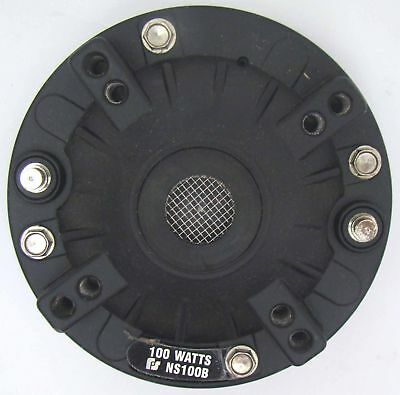 New Federal Signal NS100B 100W Police Siren Speaker Neo Driver AS124 & BP200