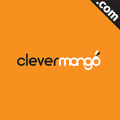 NO RESERVE: CleverMango.com - Cool Brandable Domain Name for Sale! 5 YEARS OLD