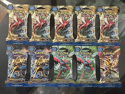 Pokemon Trading Card Game X 30  Authentic  Mixed Blister Packs New & Sealed
