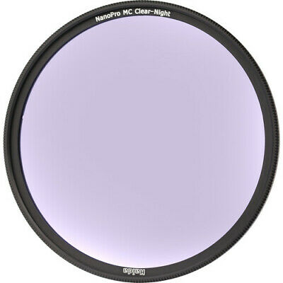 Haida 77mm Clear Night Filter NanoPro Multicoating Reduces Light Pollution
