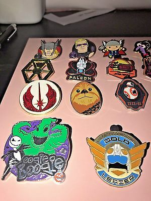 Disney Pin Trading Lot of 30 Assorted Pins NEW No Doubles 100% Trad-able  Disney