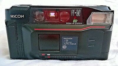 Vintage Ricoh FF-90 Film Camera 35mm Auto Focus untested as is