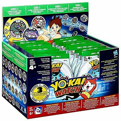 Case of 24: Yo-kai Watch Medals Blind Bags Series 3 - 72 total medals! (NEW)