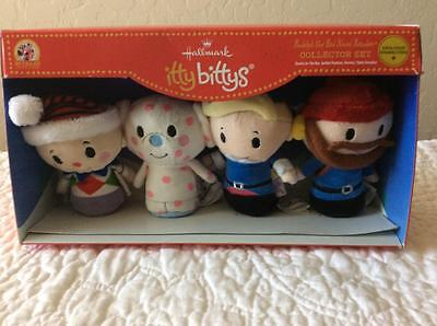 New Hallmark Itty Bitty's Rudolph The Red - Nosed Reindeer Collector Set