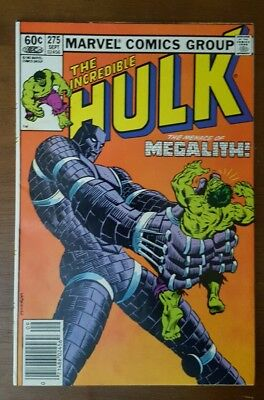 The Incredible Hulk #275 (Sep 1982, Marvel)