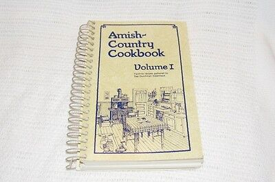 1979 Amish Country Cookbook Volume 1 By Das Dutchman Essenhaus