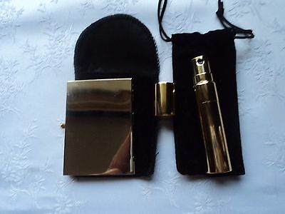 Perfume atomiser and mirror set - as new !