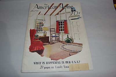 Lot of 6 - The American Home Magazines From The 1930s and 1940s