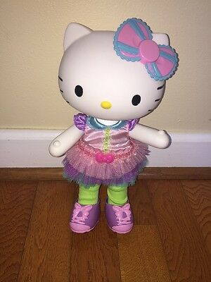 *Sanrio *Hello Kitty* 2013 Jointed Doll Vinyl Plastic w/ Clothes Jewelry Shoes