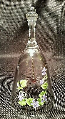 Avon BIRTHDAY MONTH Vintage Crystal Bell for February