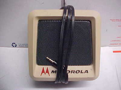 Antique RARE OEM Motorola external speaker steel tsn6000a-1 mobile loc#14c71