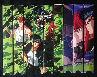 Yu Yu Hakusho VHS Collection two incomplete seasons (  9 tapes )