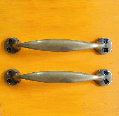 "SET OF 2 pcs 5"" inches Vintage Strong RETRO Smooth Cabinet Drawer Pull Handle"