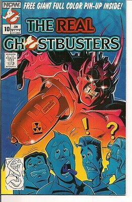 The Real Ghostbusters #10 by Now Comics