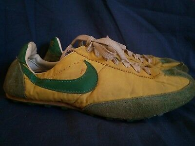 Nike Waffle Racer Green Yellow 70s Made In Japan