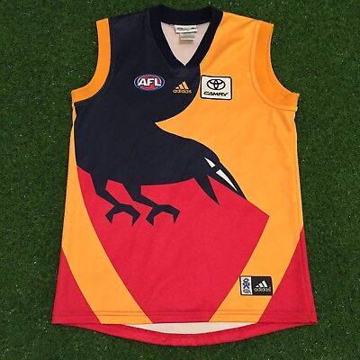 Adelaide Crows Guernsey Footy Jumper 2008 Adidas Away/Clash AFL
