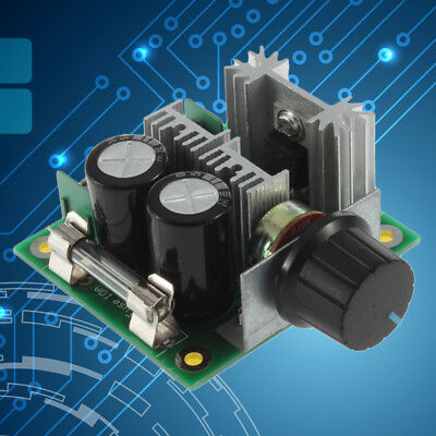 PWM DC Motor Speed Control Switch Controller Volt Regulator 12V~40V 10A FK
