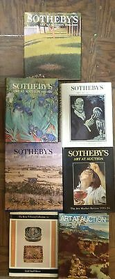 Sotheby's Art At Auction Catalogs Book Lot Of (6)