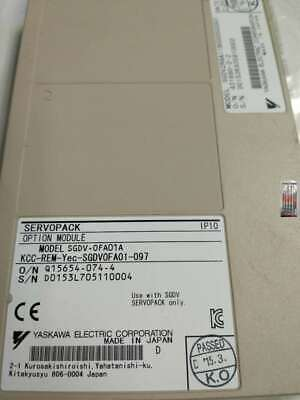 **USED Yaskawa Servo Pack Option Module SGDV-OFA01A with 60days warranty