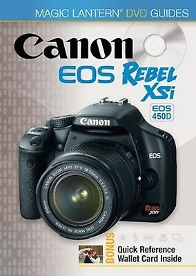 Magic Lantern Digital Camera DVD Guide - Canon EOS 450D