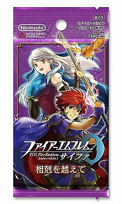 """(1pack)TCG Fire Emblem 0 (Cipher) Booster Pack B05""""Beyond Aomori""""(10 cards in)"""