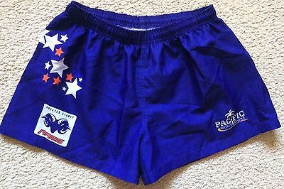 Greater Sydney Rams Rugby Union Shorts Pacific World Sevens Mens Size M - VGC