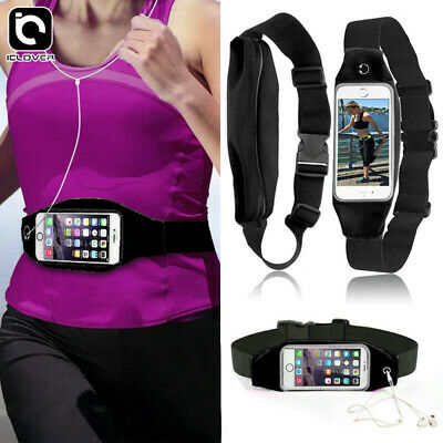 Waterproof Case Sport Running Waist Belt Fanny Pack Bag for iPhone XS/Max/8/Plus