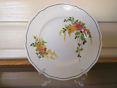 "Royal Doulton ""Rosslyn"" Entree / Salad Plate D5399 Made In England 1930s"