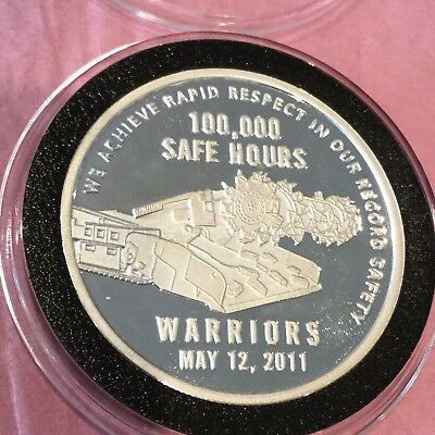 West Elk Mine Rare Collectible Proof Coin 1 Troy Oz .999 Fine Silver Round Medal