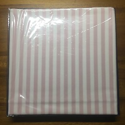 NWT BROOKS BROTHERS Men's Pink Striped 100% Cotton Pocket Square
