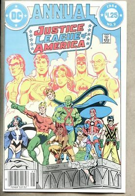 Justice League Of America Annual #2-1984 nm-  1st Gypsy 1st Vibe