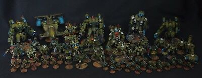 Tau Army  Pro Painted   warhammer wh40k  Tau Empire