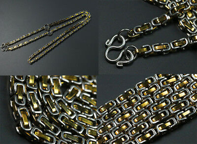 4.mm 3Hook 28 inches Stainless Steel Necklace Solid for thai amulet handmade #22