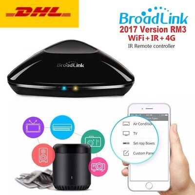 2017 Broadlink RM3 WIFI+IR+RF Fernbedienung Smart Schalter Smart Home Automation