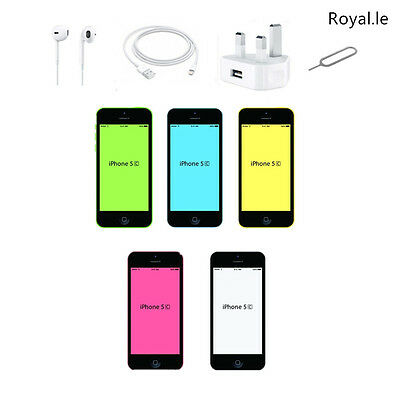 NEW Smartphone Apple iPhone 5C 8GB 16GB 32GB SIM FREE BLUE WHITE PINK GREEN
